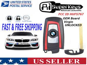 🔥🔥🔥 NEW OEM Unlocked Keyless Remote Key Fob  BMW SMART PROXIMITY YGOHUF5767
