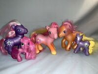 "My Little Pony G3 ""STAR DASHER"" (Jewel Friend Ponies) 2005 Lot Of 5 (B1)"