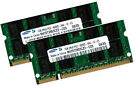 2x 1GB 2GB DDR2 SAMSUNG Notebook RAM Speicher 400 Mhz SO-DIMM PC2-3200S 200 pin