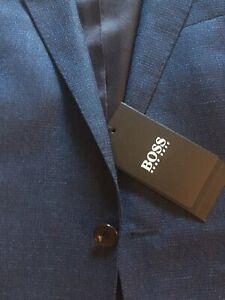 HUGO BOSS Herren Anzug Modell Novan5/ Ben2 Gr. 44 mit Hugo Boss Krawatte NEU
