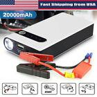 20000mah 12v Car Jump Starter Portable Usb Power Bank Battery Booster Clamp 400a