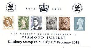 GB 2012 Queen's Diamond Jubilee Salisbury overprint miniature sheet MNH mini