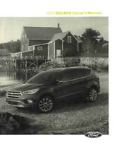 2017 Ford Escape Owners Manual User Guide