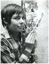 Poucette, peintre française  Vintage silver print Tirage argentique  18x24
