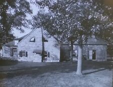 Old Senate House, Kingston, New York, 1910, Magic Lantern Glass Photo Slide