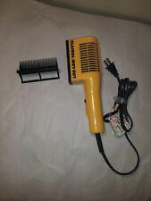 "Clairol ""Dry Guy"" Men's Hair Styler Blow Dryer CH1 1980's Vintage *100% WORKING*"