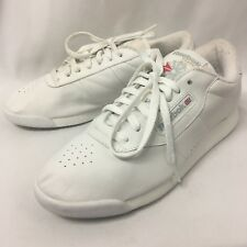 Reebok Womens 9 Princess Classic White Premier Comfort Shoes Sneakers Trainers