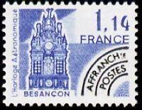 "FRANCE PREOBLITERE TIMBRE STAMP N°171 ""MONUMENTS, HORLOGE BESANCON"" NEUF xx TTB"