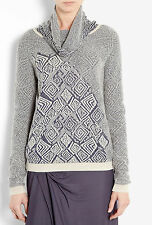 SEE BY CHLOÉ TRIBAL INTARSIA JUMPER MADE IN ITALY SIZE 10/12 RETAIL £279..SALE!