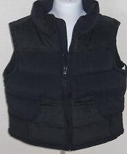GYMBOREE Boy's Ace Pilot Navy Blue Fleece Lined Puffer Vest Size XS(3-4)