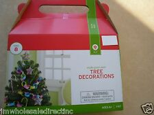 New !  Christmas Holiday Time Make your own Tree Decorations makers 8