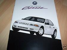 Catalogue / Brochure PLYMOUTH Breeze  1998 //
