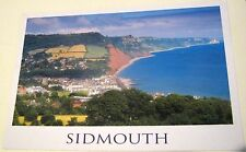 England Sidmouth from Peak Hill Devon IOD-037 John Hinde - posted 2000