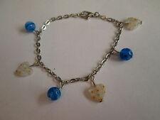 """Bracelet """"Coeurs et Perles"""",en Perles divers,neuf."""