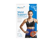 Breathable Back Support Waist Brace Lower Lumbar Belt Strap Backache Relief Pain