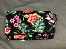 """Vera Bradley Iconic All Together Crossbody Bag Vines Floral 7"""" x 8.25"""" NEW!"""