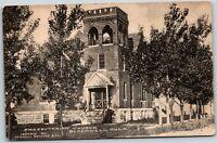 Oklahoma OK Blackwell Presbyterian Church 1900's Old Vintage Postcard B5