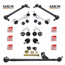 Mercedes W123 Suspension Kit Control Arms with Ball Joints & Center Drag Link