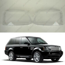 Range Rover SPORT L320 Facelift OEM Headlight Glass Lens Plastic Cover (PAIR)