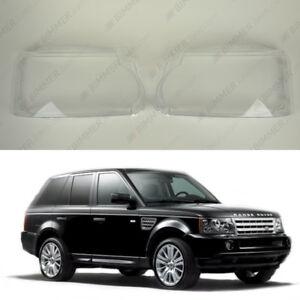 Range Rover SPORT L320 Facelift OEM Headlight Lens Plastic Cover (PAIR) 2010-13