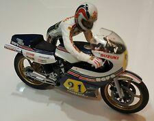 Built Tamiya 1/12 Suzuki RGB500 Gallina 14009 Marco Lucchinelli Push Start Rider