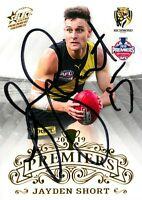 ✺Signed✺ 2019 RICHMOND TIGERS AFL Premiers Card JAYDEN SHORT