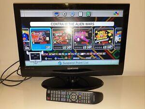 "Samsung 22"" HD LCD TV flatscreen LE22C350D1W black television"