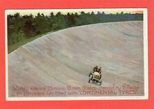 More details for continental tyres motor racing world record advertising pc unused ref p770