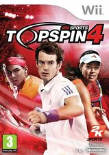 Top Spin 4 (Wii) Nintendo Wii PAL Brand New
