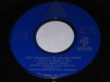 James & Bobby Purify:Help Yourself (To All My Lovin')/Last Piece Of Love 45-Soul