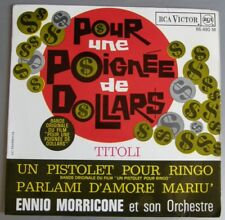 ENNIO MORRICONE (EP 45T)  POUR UNE POIGNEE DE DOLLARS / TRAMBOUZE
