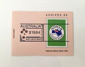 MAD387a) Australia 1981 AUSIPEX I - Birds (Left Staple) Booklet MUH