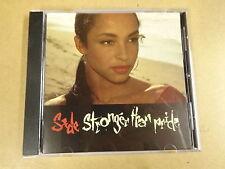 CD / SADE - STRONGER THAN PRIDE