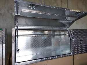 Aluminium Toolbox 3MM Full Recessed Door Open Ute Truck box 2100x600x820 mm
