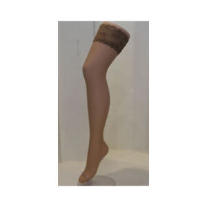Aristoc Nude Sensuous 10 DN Hold Ups with Nude Lace Tops