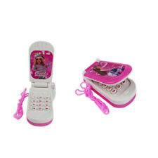 Barbie Music Lights Mobile Cell Phone Toddler  Electronic Educational Toys Pink