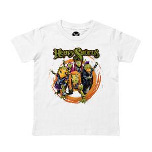 Heavysaurus (Rock 'n Rarr) - Kinder T-Shirt von Metal-Kids