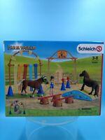 neuf jouet Entrainement d'agility pour poney Farm world schleich 42481