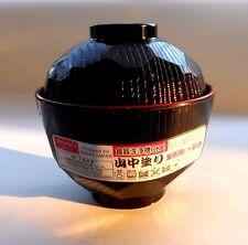Japanese MISO Soup Bowl  YAMANAKA NURI Made in JAPAN