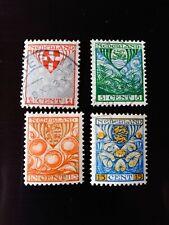 STAMPS - TIMBRE - POSTZEGELS - NEDERLAND - PAY-BAS 1926 NR. 192A/195A (ref.NL78)