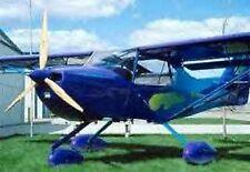 Kitfox Series 5 Vixen Denney Airplane Desk Wood Model Small New
