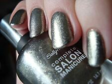 NEW! Sally Hansen Complete Salon Manicure nail polish SHOOT THE MOON #160 Foil