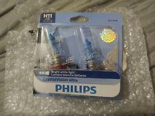 New listing Philips Bright White Light H11 Cvb2 New Open Box 12V 55W