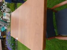 Unbranded Solid Wood Table & Chair Sets with 6 Pieces