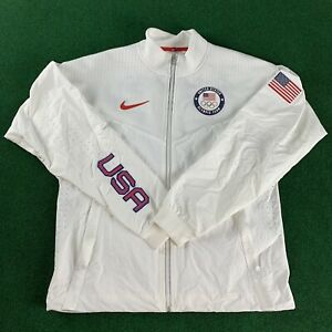Nike Team USA Windrunner Men's Medal Stand Jacket Olympic CK4552-100 New Size M