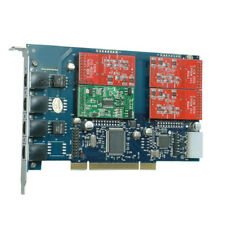 TDM410P 3FXO & 1FXS Asterisk card PCI card for trixbox elastix freepbx voip pbx