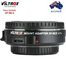 Viltrox EF-M2 II Auto Focus 0.71xSpeed Booster Adapter for Canon EF Lens to M4/3