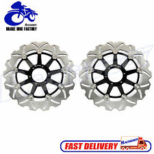 2pcs Front Brake Disc Rotor for Honda GL 1500 Valkyrie SC34 97-03 Gold Wing 1800