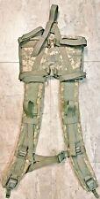 2 Molle II Rucksack Shoulder Straps  ACU