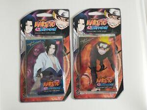 Naruto Shippuden CCG Fateful Reunion Bandai 2009 Lot of 2 Single Blisters